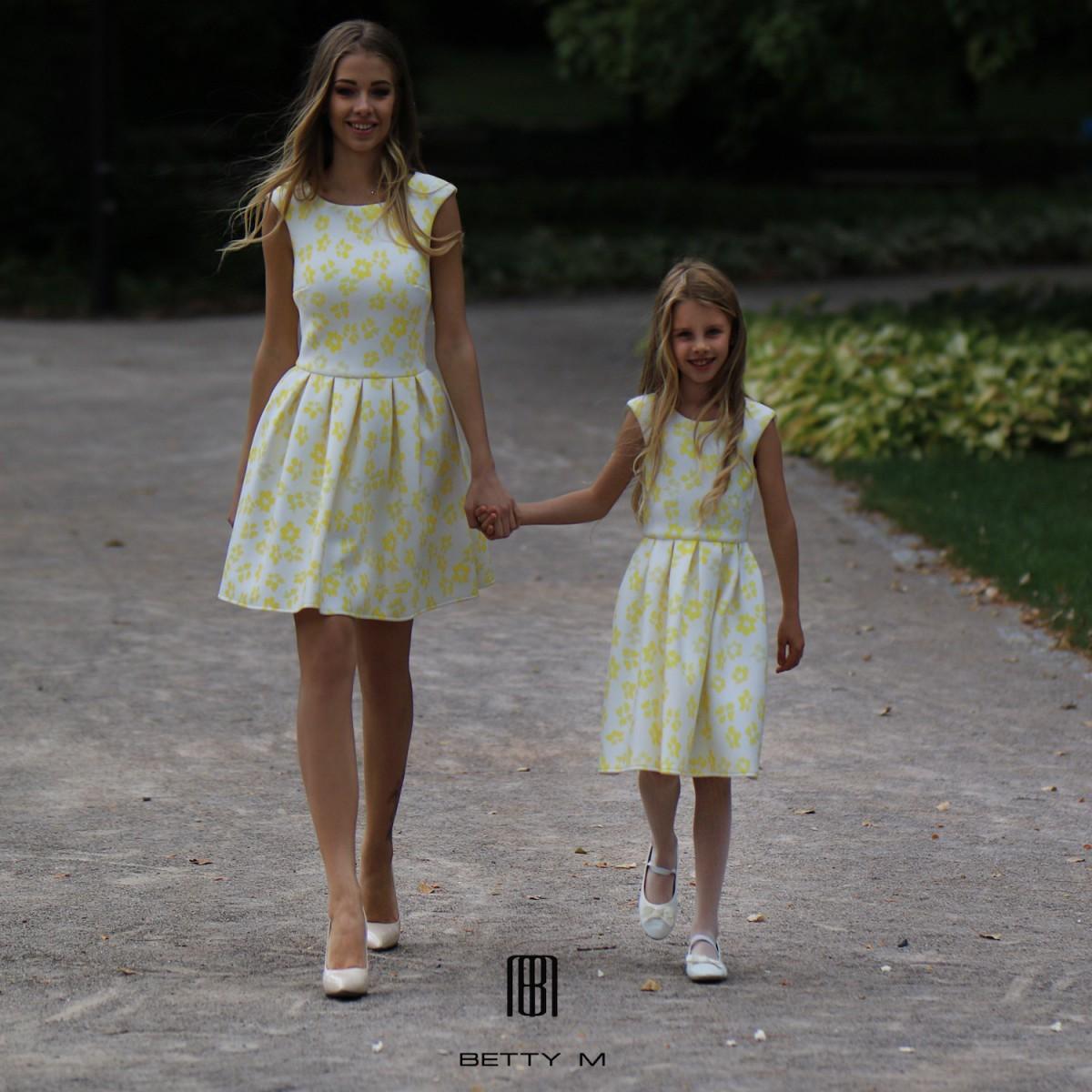 11cc66c9a9fa Detské šaty Žlté kvety