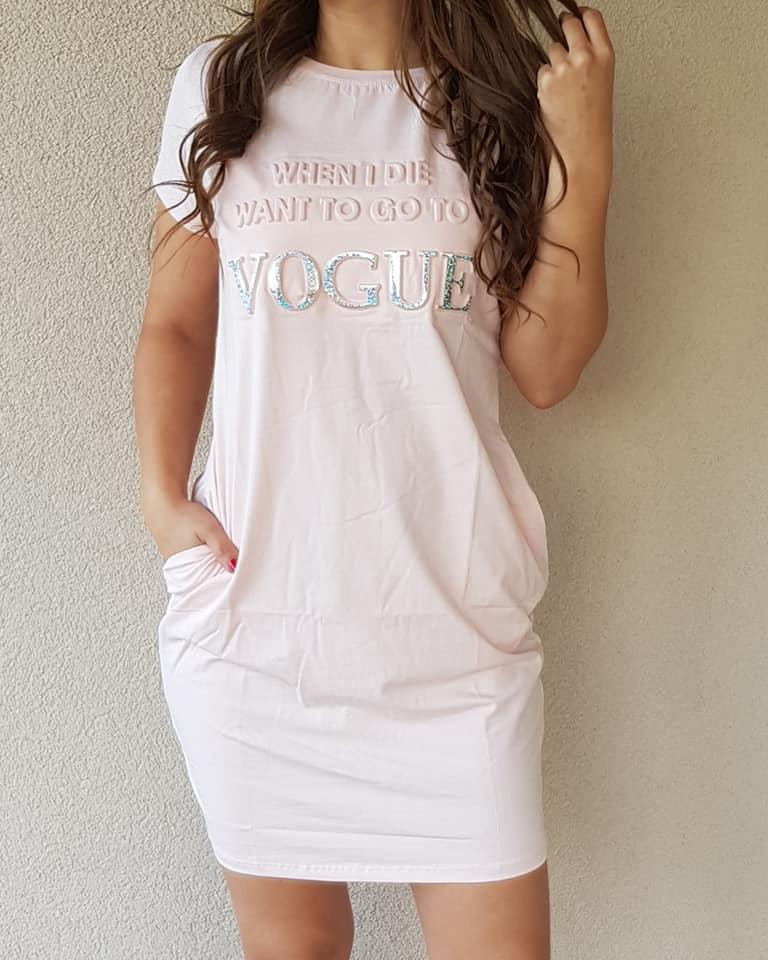 a538b4b4c339 Športové šaty Vogue ružové