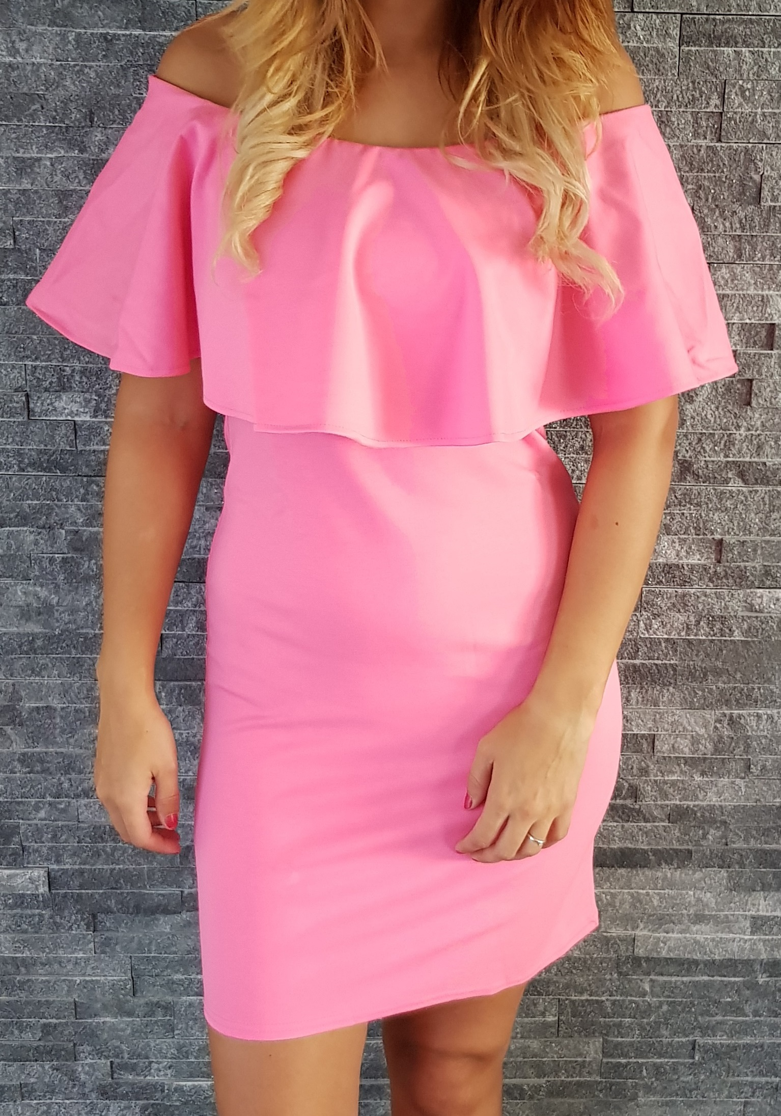 c3015c481161 COCOVIU Ružové šaty Španielsko