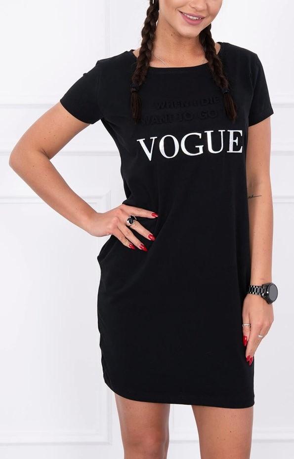 0052860a3ce0c Športové šaty Vogue čierne