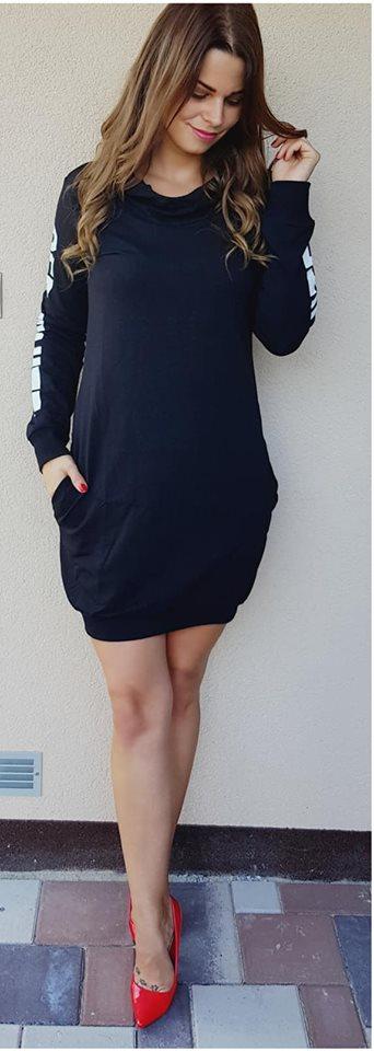 5f025f9b9c259 Športové šaty OFF-WHITE čierne