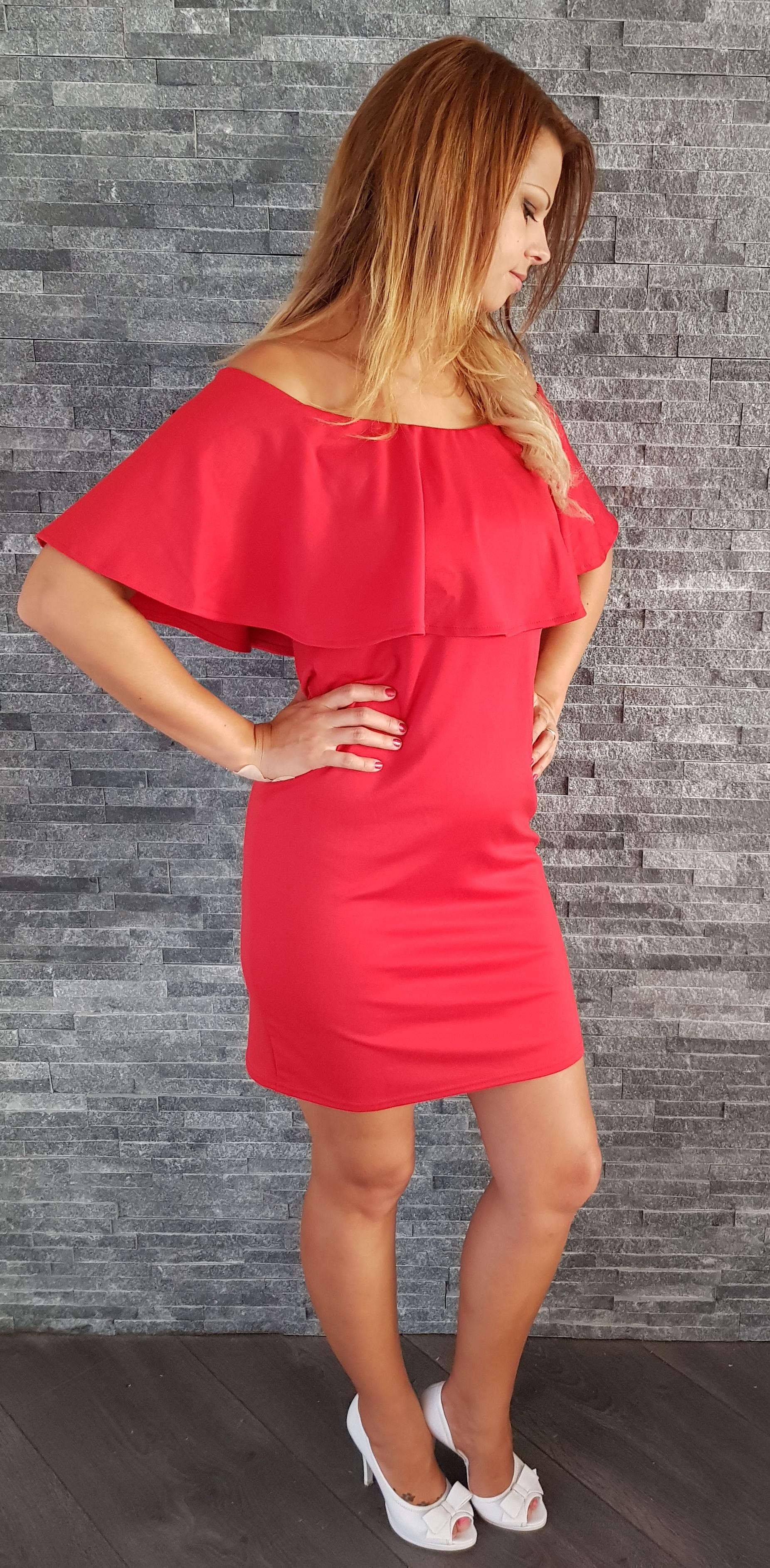 29d970af9c50 COCOVIU Červené šaty Španielsko