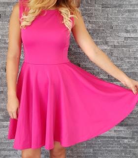 COCOVIU Ružové koktejlové šaty Ľalia II c62143f2221