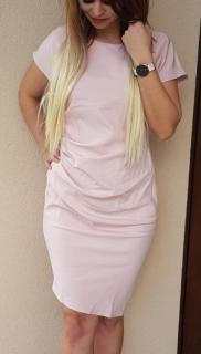 Šaty Agáta staro ružové dbb796a9700